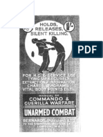 Manual of Commando and Guerilla Warfare Unarmed Combat - Bernards 1940s
