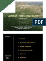 2011_23 Clonacion y Transgenesis Animal