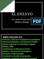 V. EL ENSAYO