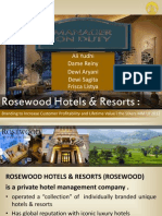 Rosewood Hotel Case Study