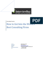 How to Get Into the Worlds Best Consulting Firms eBook
