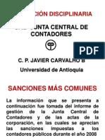 EAFIT Conferencia Actuacion Disciplinaria JCC2008