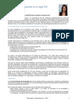 Enseñar y aprender- Eugenia Sanchez 2007