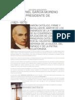 DON GABRIEL GARCÍA MORENO