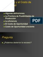 Costos de Oportunidad de Parking