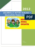 Desarrollo Motor Humano y Educacion Fisica Infantil