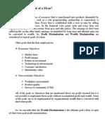 profitmaximization & wealthmaximization