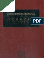 Derecho Civil Ignacio Galindo Garfias