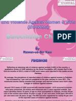 EVAW&G Seminar Ppt