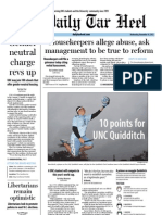 The Daily Tar Heel for November 14, 2012