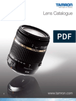 Tamron Lens Catalogue