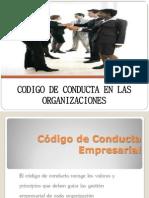 Codigo de Conducta en Las Organizaciones - Diapositivas (1)