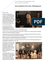 Feature on Andrej Pejic