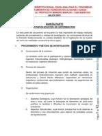 6. Quinta Parte Consolidacion de Informacion