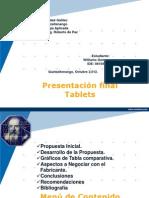 Presentación final Tablets