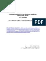PROGRAMACIÓN FOL SMR  2012-2013