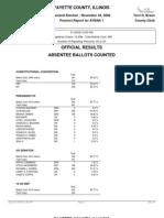 2008 Fayette County, IL Precinct-Level Election Results