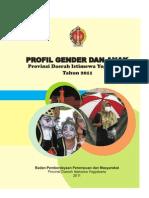 Buku Profil Gender Dan Anak 2011