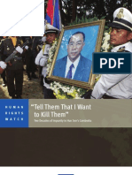 Human Rights Watch Report