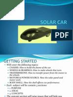 Solar Car Sbpi