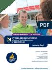 Informator 2013 - Studia II Stopnia - Wydział Ekonomiczny w Szczecinie Wyższej Szkoły Bankowej w Poznaniu
