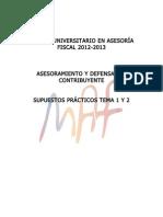 CASOS PRACTICOS SOLUCIÓN DE CLASE