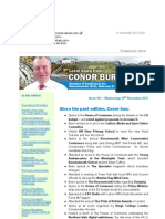 News Bulletin From Conor Burns MP #101