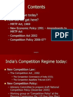 Mrtp and Competition Act- India