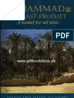 Muhammad The Last Prophet A Model For All Time by Maulana Syed Abul Hasan Ali Nadwi