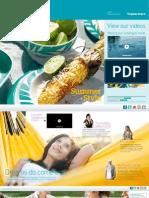 Tupperware Spring Summer Catalogue 2012