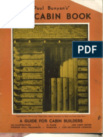Paul Bunyan Slog Cabin Book