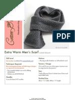 Extra Warm Men Scarf