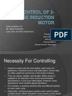 Auto Control of 3-Phase Induction Motor