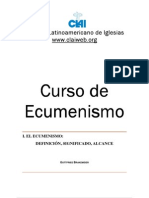 CLAI-Gottfried Brakemeier-Curso de Ecumenismo
