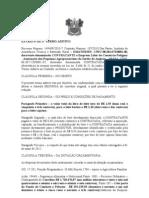 EXTRATO DE 3º TERMO ADITIVO APASA FORNECIMENTO LEITE