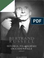 Bertrand Russell - Istoria filosofiei occidentale I