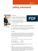 Manual Handling Assessment Charts