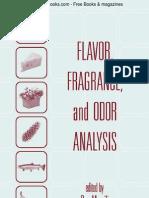 Flavor, Fragrance & Odor Analysis