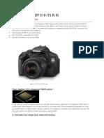EOS 600D Kit I