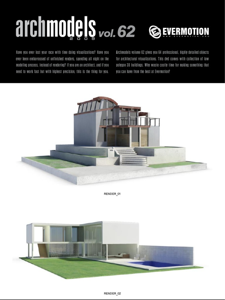 Archmodels Vol 62 Housing | Trademark | Scientific Modeling