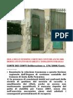 Polizia Municipale Di Isola Delle Femmine Sanzioni Amministrative Anno 2010 Rettifica Mancata Riscossione 2011 Bilancio 2008 San Giorgio Tributi Italia
