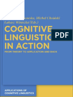 Cognitive Linguistics in Action