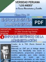 Clase Nro.10 Enfoque Sistemico
