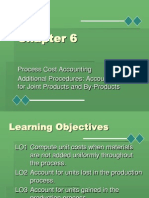Process Cost Accounting Additional Procedures