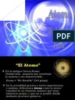 Disertación Atomo  Molécula e Ión
