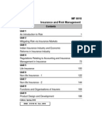 MF0018 Insurance and Risk Management