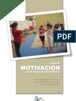 Guía de motivación para técnicos deportivos