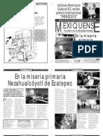 Versión impresa del periódico El mexiquense 14 de noviembre 2012