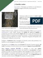 Gravissimo Un Bambino in Una Battuta Di Caccia Al Cinghiale. Caccia in Sardegna, Stagione 2012-2013