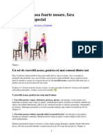5 Exercitii Fitness Ptr Acasa Foarte Usoare